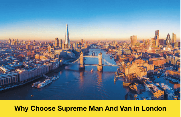Supreme Man And Van in London