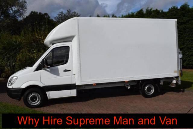 Supreme Man and Van